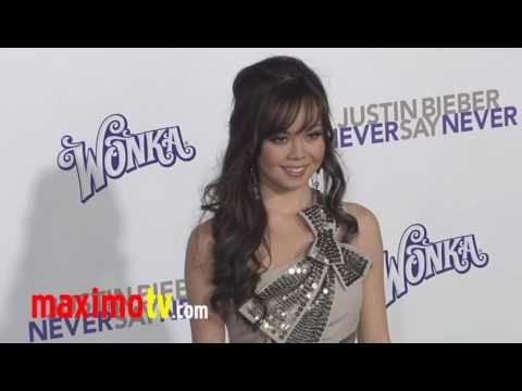 "ANA MARIA PEREZ DE TAGLE at ""Never Say Never"" Prem..."