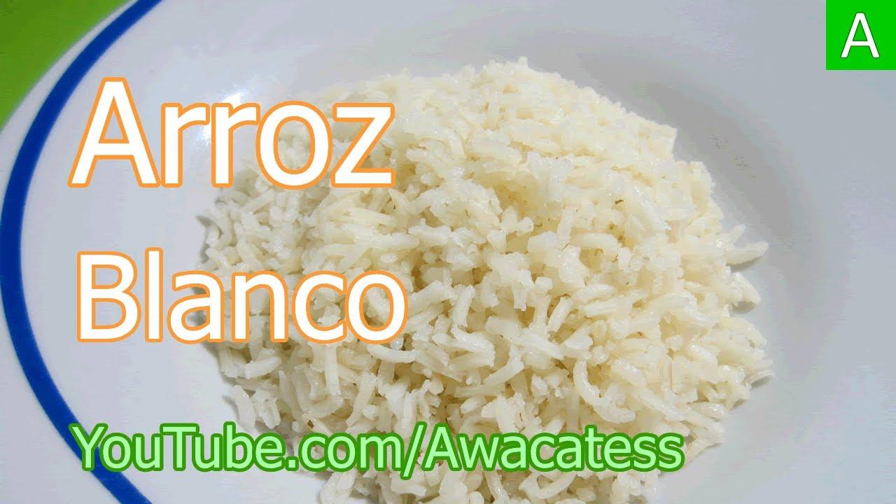 Como hacer arroz blanco para dieta blanda