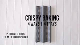 Trying Eetrite's Crispy Baking Trays - 4 ways with pizza dough