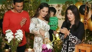 Sania Mirza FIRST Birthday in Pakistan | Video w/ Shahista Lodhi & Shoaib Malik | NB Reviews
