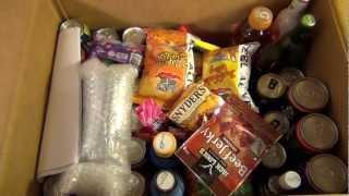 Americanfood4u.de Bestellung Big Package Unboxing