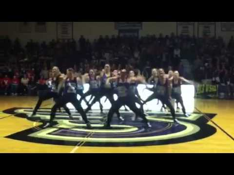 Stonehill college dance team midnight madness 2012
