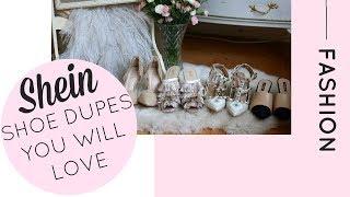 Dupes Vs Fakes! | Shein Shoe Dupes | Katie KALANCHOE