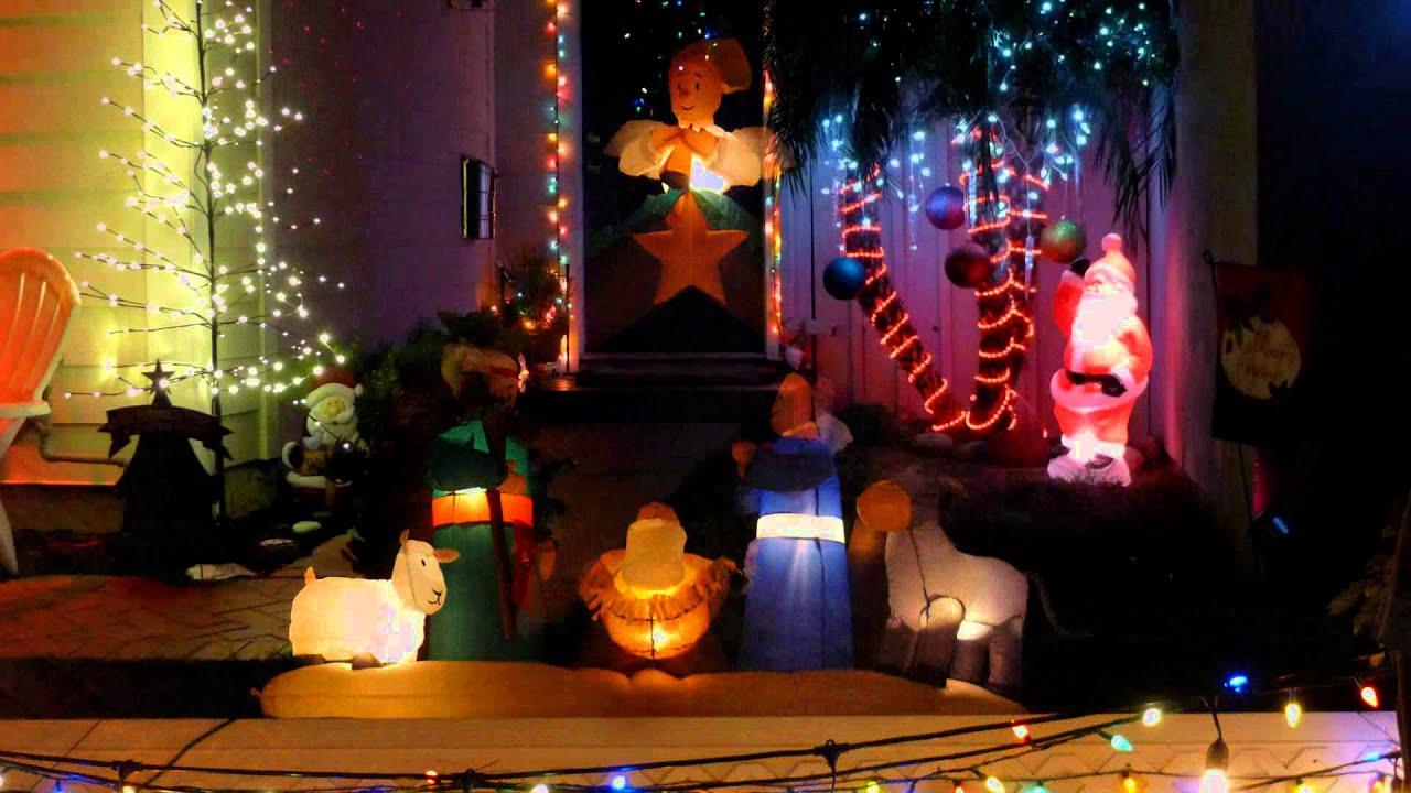 Christmas San Juan Capistrano Home Decorations Ernesto Cortazar 111 Ave Maria Youtube