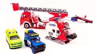Видео про машинки: Команда спасателей Dickie Toys на вызове: Развивающие игрушки для детей(Видео про машинки расскажет ребятам о работе спасателей. Спасательный набор Dickie Toys – это целая спасател..., 2014-12-10T03:00:02.000Z)