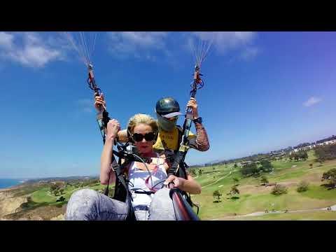 lisa arnold Paragliding at Torrey Pines Gliderport