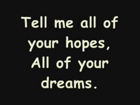 Secondhand Serenade - Take me with you Lyrics