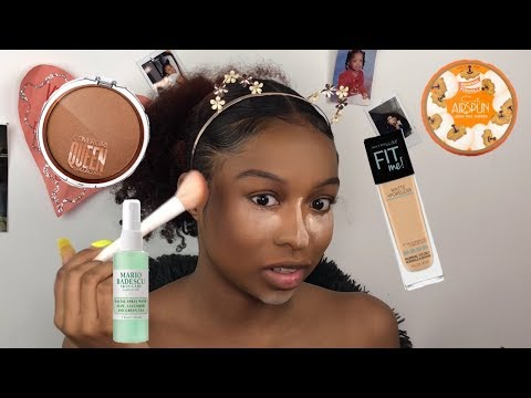 Everyday Makeup Tutorial | 10 Minute Makeup | Makeup for Black women | Lovevinni_ thumbnail