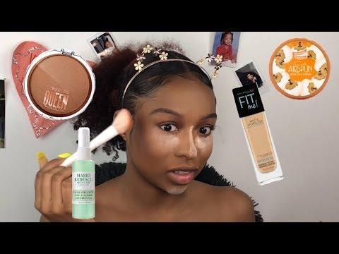 Everyday Makeup Tutorial | 10 Minute Makeup | Makeup for Black women | Lovevinni_