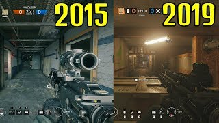 ALL Siege Changes In 2015 vs 2019 - Rainbow Six Siege