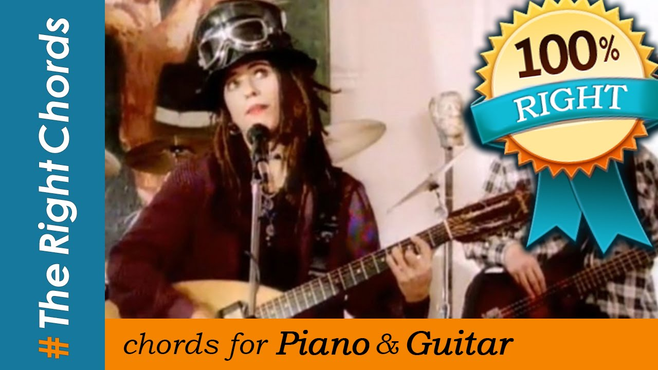 4 Non Blondes Whats Up Chords Therightchords Youtube