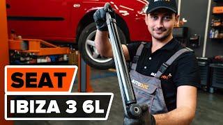 Kako zamenjati Blažilnik SEAT IBIZA IV (6L1) - spletni brezplačni video