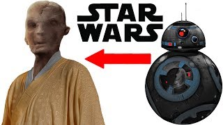 NEW Snoke Info and Evil BB-8 Droid Revealed - Star Wars Last Jedi Explained