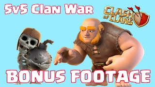 Clash Of Clans 5v5 Clan War Challenge BONUS EDITION | Behind The Scenes