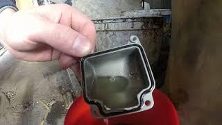 Benzin sifati-95 AI yoki ushlab emas, deb snowmobile Dingo bo'sh