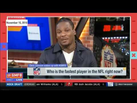 Chris Johnson Talks About Who Is The Fastest Player In The NFL Right Now?