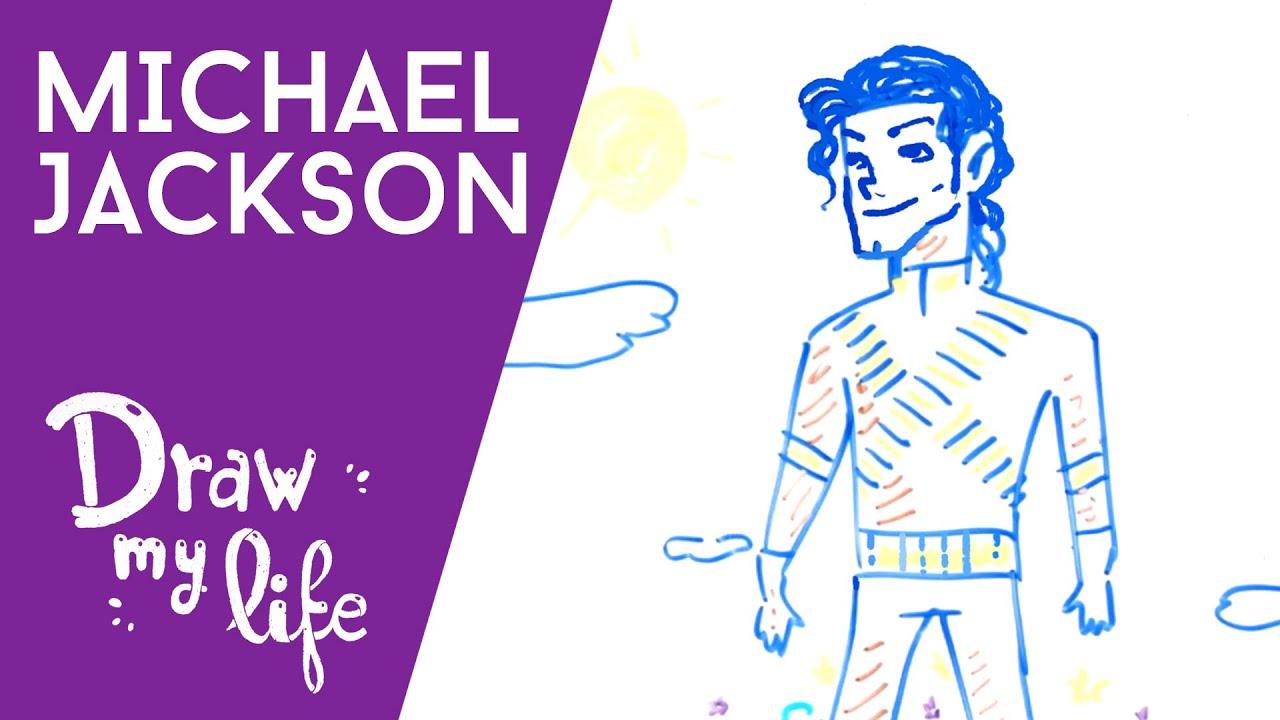MICHAEL JACKSON | La HISTORIA del REY del POP | Draw My Life