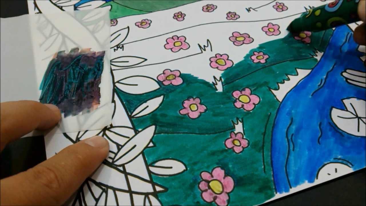T cnica de dibujo y coloreado mezclar colores con - Colores para colorear ...