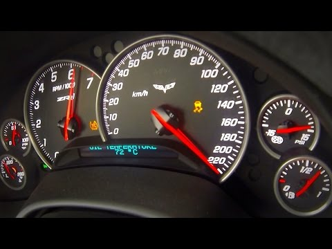 Chevrolet Corvette ZR1 Brutal Acceleration & Sound