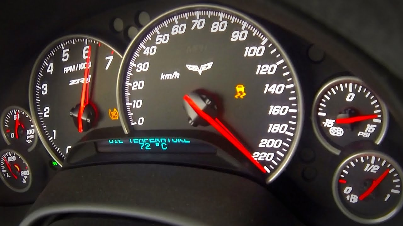Chevrolet Corvette ZR1 Brutal Acceleration & Sound - YouTube