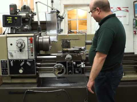 Harrison M400 Lathe with 3 axis DRO system