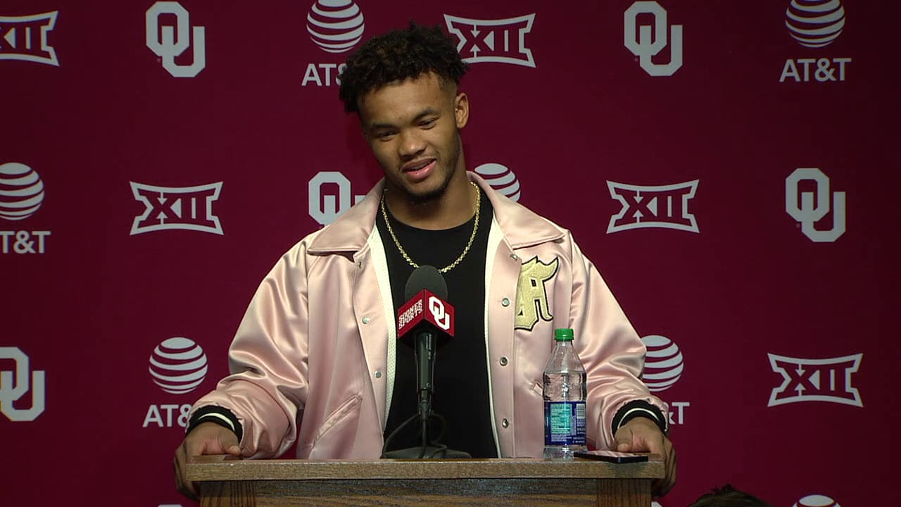 Press Murray Conference Kyler Ou Post Game Football -