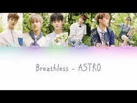 ASTRO (아스트로) – BREATHLESS (숨가빠) Lyrics (Color Coded/ENG/ROM/HAN)