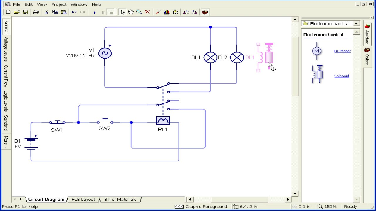 hight resolution of dpdt relay