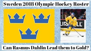 Team Sweden 2018 Olympic Hockey Roster Discussion