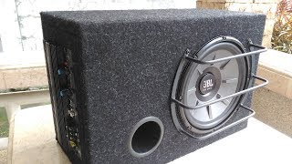 DIY 1 cuft 10 inch Vented Powered Subwoofer