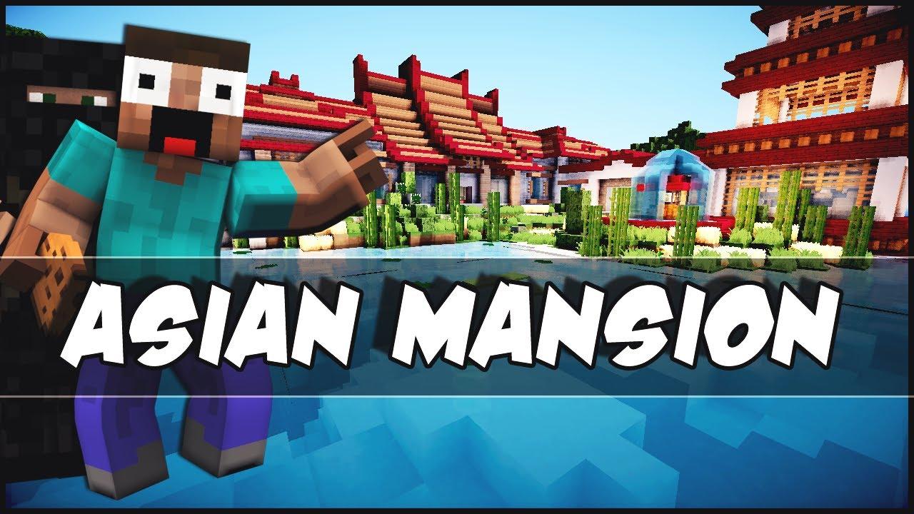 Minecraft Modern Asian Mansion YouTube