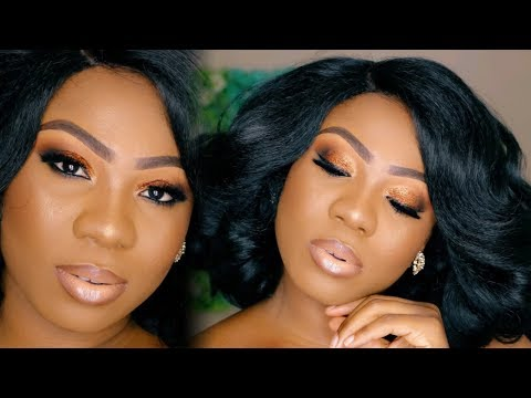 FULL MAKEUP TUTORIAL IN YORUBA| TUTORIAL IN MY NATIVE LANGUAGE