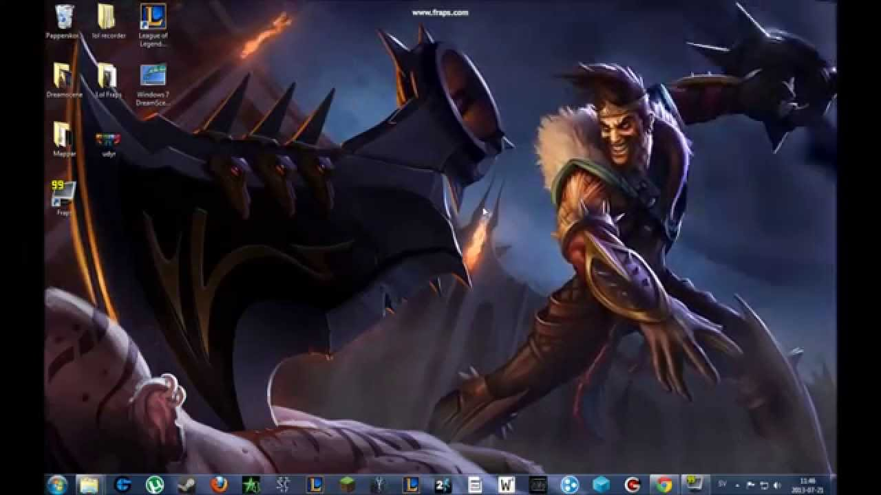 League of Legends Animated wallpapers!! - YouTube