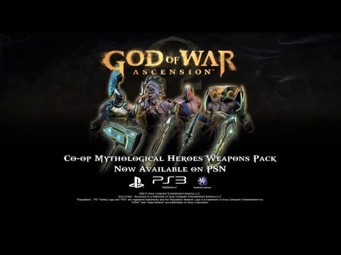 God of War: Ascension - Mythological Heroes Co-Op Weapons DLC