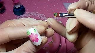 Nails: тестируем акриловые краски.