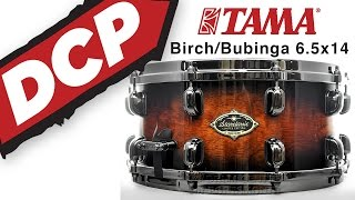 Video Demo: Tama Starclassic Performer B/B Ltd Snare Drum 14x6.5 Quilted Mocha Burst