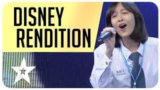 Disney rendition from the film Enchanted on Thailand's Got Talent