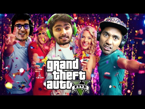 Friday Night GTA 5 Party with Indian Gamers | Saxisam, GGM and Quasar Games