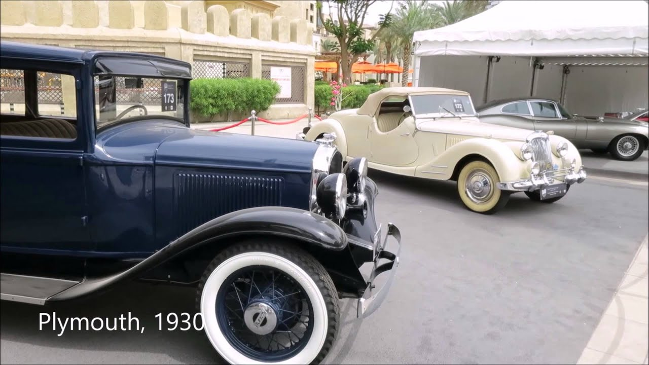Emirates Classic Car Festival 2015 In Dubai Youtube