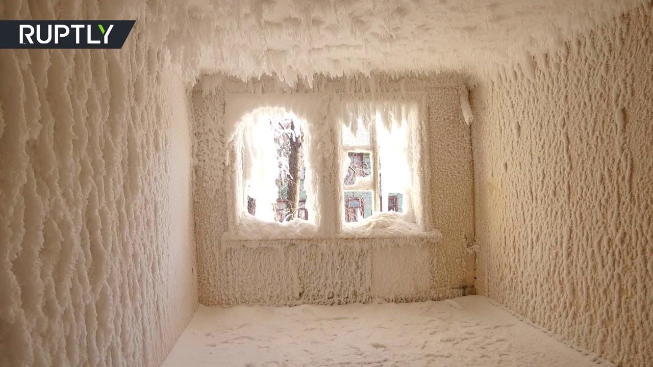 Царство зимы: в Екатеринбурге нашли «дом Снежной королевы»