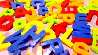 Magnetic Capital Letters ABC Board Toys Learn Alphabet for Toddlers Kids English Letters abcd