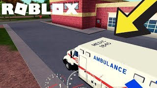 Emergency Response Roblox - Being a Paramedic!!