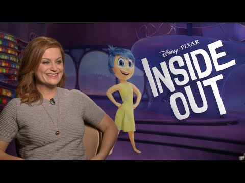 INSIDE OUT interviews - Poehler, Hader, Kaling, Phyllis Smith, Lewis Black - Pixar