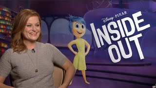 INSIDE OUT interviews - Poehler, Hader, Kaling, Phyllis Smith, Lewis Black - Pixar