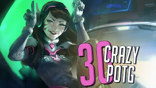 30 CRAZY PLAYS OF THE GAME #14 ► Overwatch Highlights Community Montage