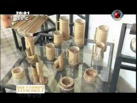 Que y como se hace artesan a en tacuara aregu for Como hacer artesanias en casa