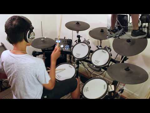 DREAM THEATER - EROTOMANIA Drum Cover by 14 Year Old