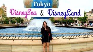 Tokyo DisneyLand & DisneySea 💕 | Japan Vlog 11 | German
