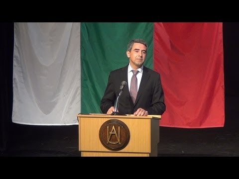 Rosen Plevneliev - A Better Future: Who Needs to Take the Initiative?