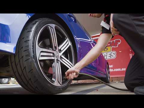 Nitrogen Tyre Inflation // Supercheap Auto Services